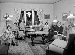 John Haugen med familie
