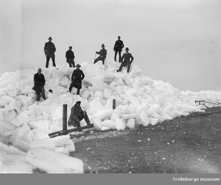Snö och isvinter 1940.