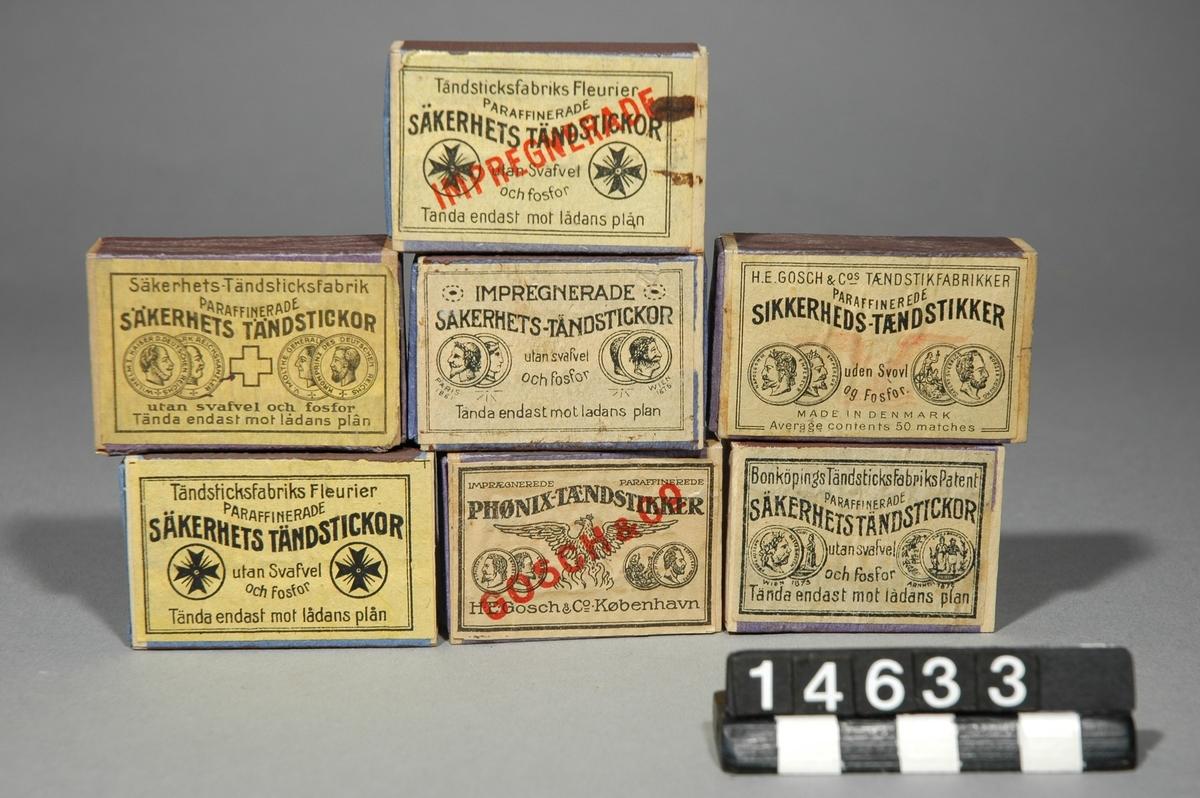 Tändsticksask - Tekniska Museet   DigitaltMuseum 3828b14b32ffd