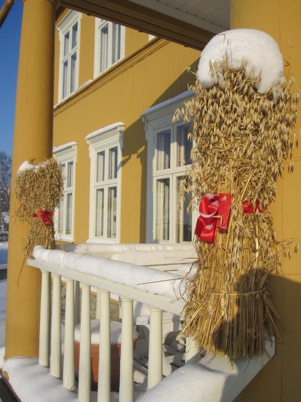 Jul i Aamodtgården