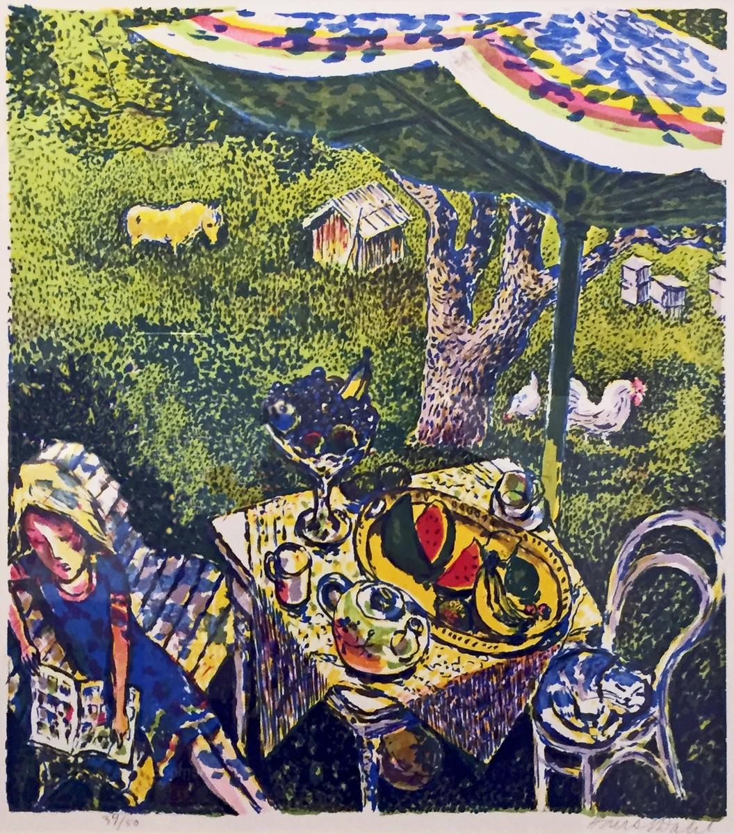 Hans Normann Dahl er en maler, grafiker, avistegner og illistratør. Han er kjent for sine mange fargerike, frodige og romantiske bilder, ofte i en karikert og idylliserende stil.