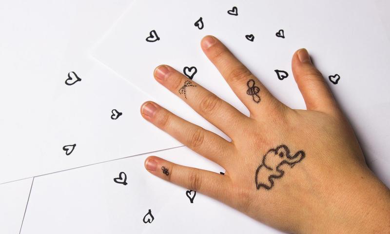Tankene strømmer - Hånden forteller - Se så søte - Mats Heggerusten Lilletrøen