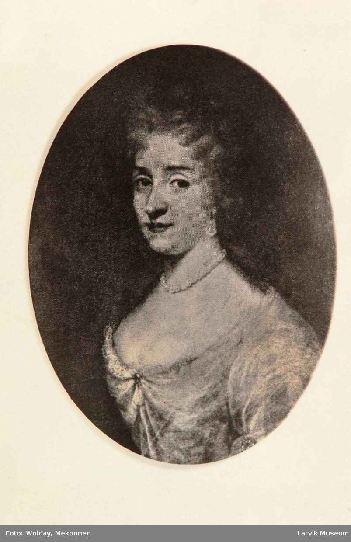 Antoinette Augusta,grevinne av Oldenburg feiret sitt bryllup i Herregården 16.august 1677. etter maleri på Fredriksborg