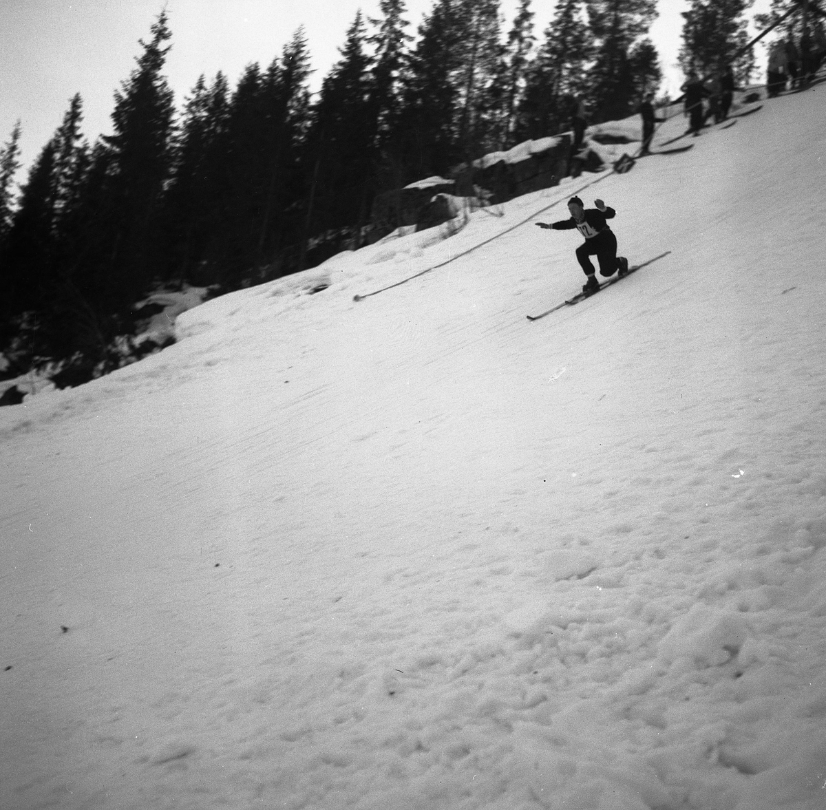 Kongsberg skier Svein Lien in action