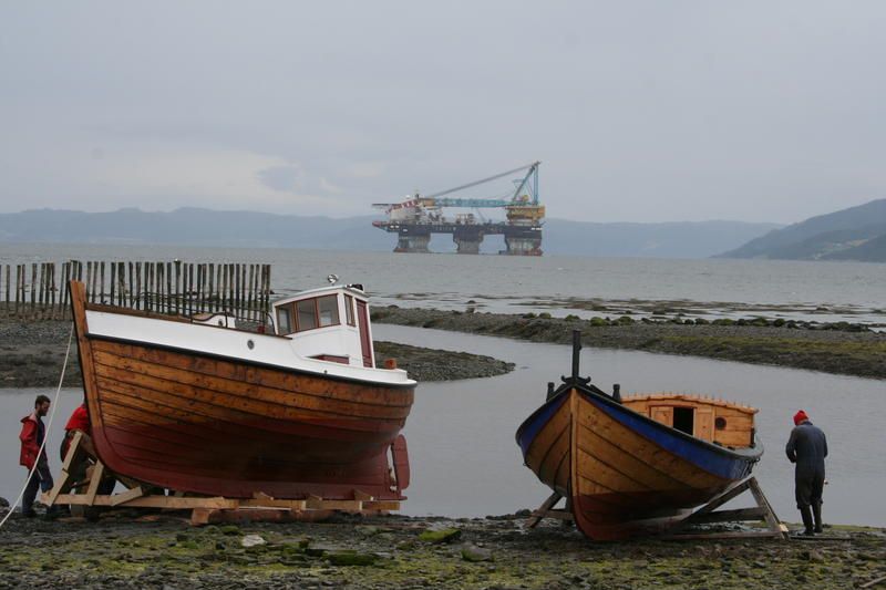 Børsabåten Eivind sjøsettes
