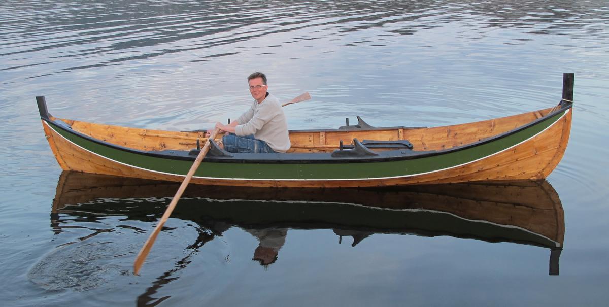 Innherredsbåten er en lettrodd og god båt.