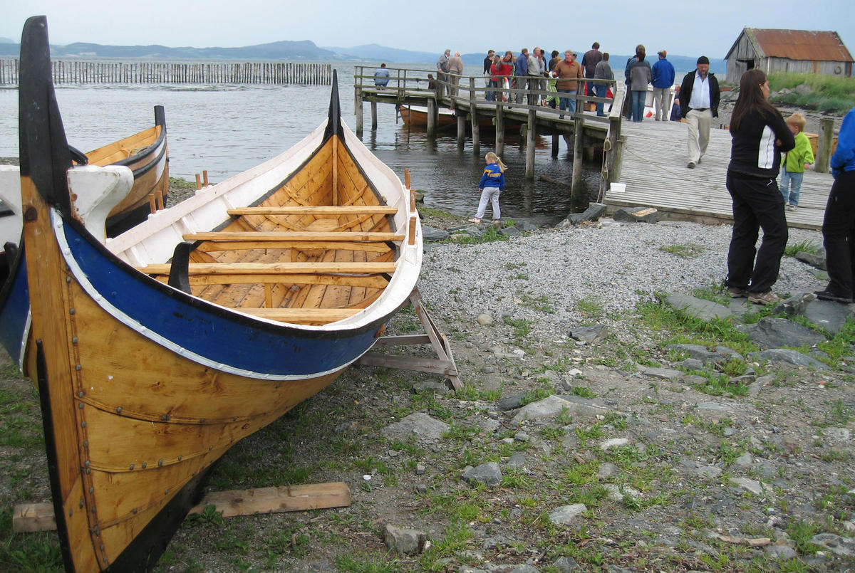 Nordlandsbåt. This is the traditional boat from northern norway. (Foto/Photo)