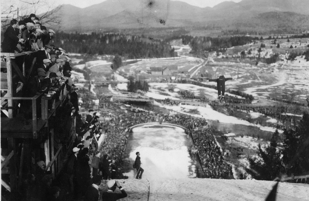 Ski jumping at Lake Placid