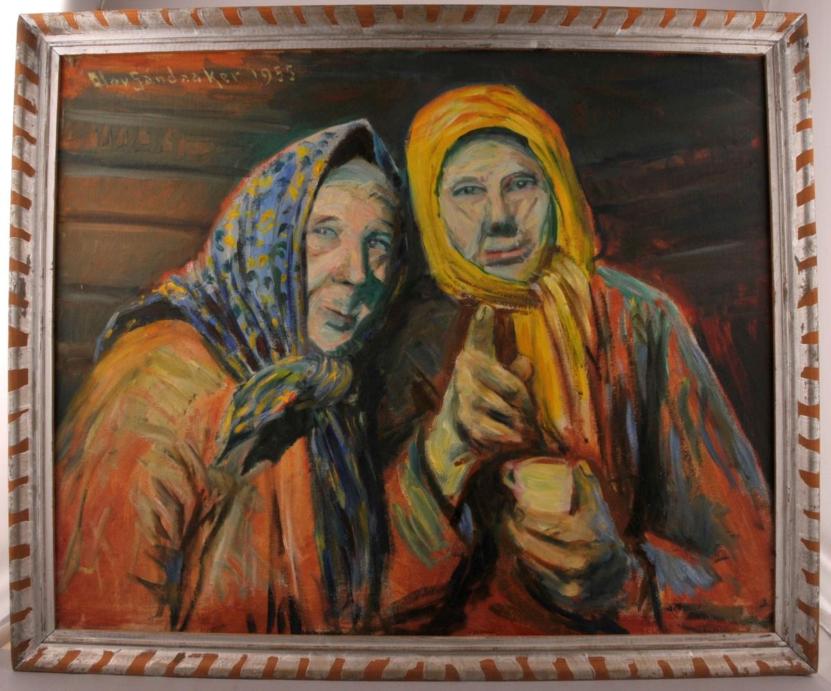 Portrett av Rui-søstrene.
