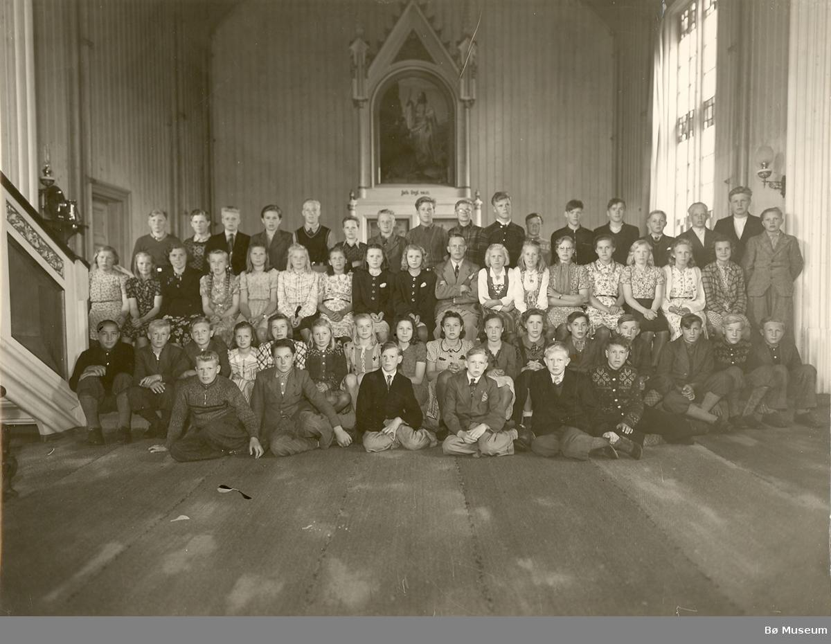 Konfirmasjonsbilde 1942