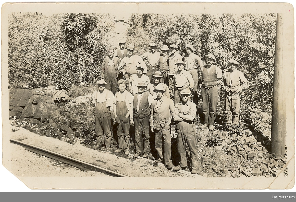 Jernbanearbeiderar