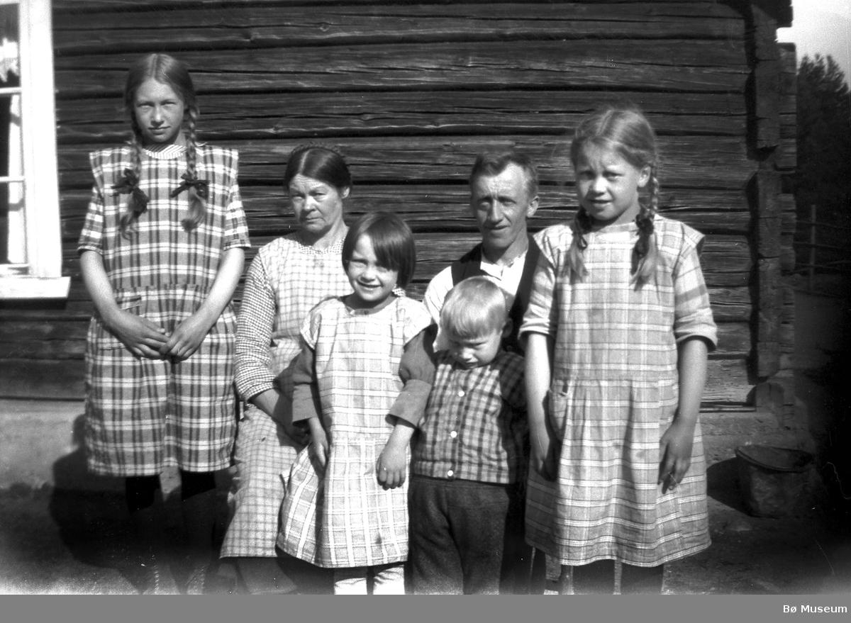 Barn i Smestadinnleggen. Trolig