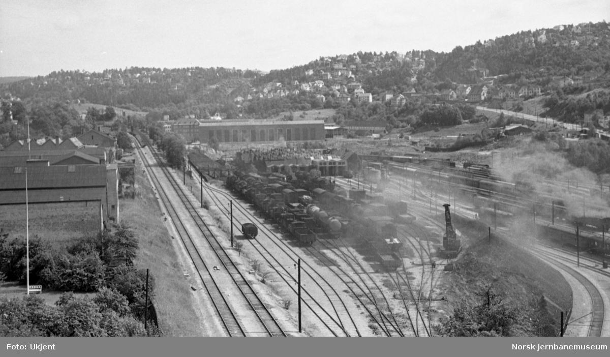 Oslo Ø - oversiktsbilde over anlegget i Lodalen