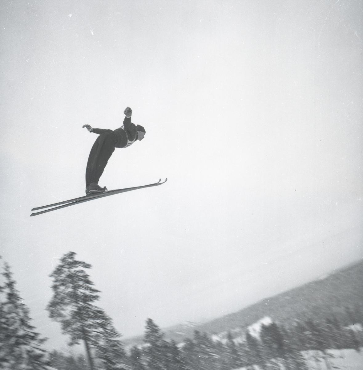 Kongsberg skier in action