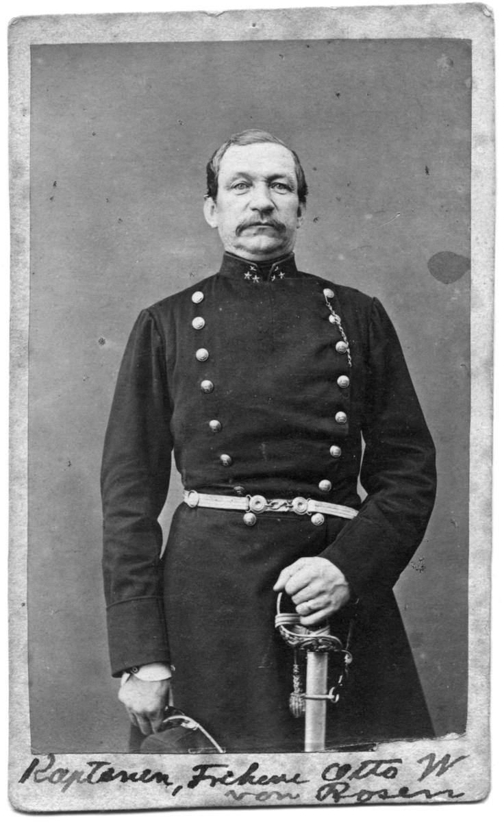 Kapten, friherre, Otto W von Rosen