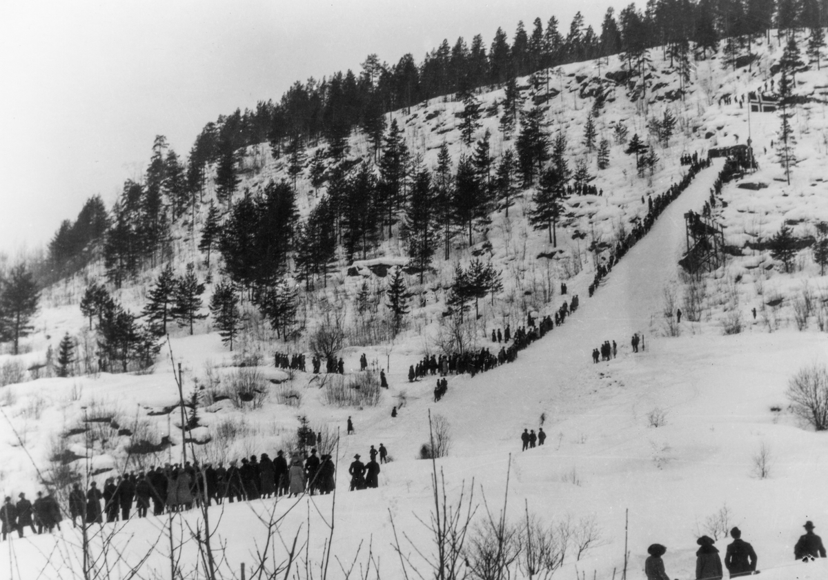 Ski jump at Hannibalbakken