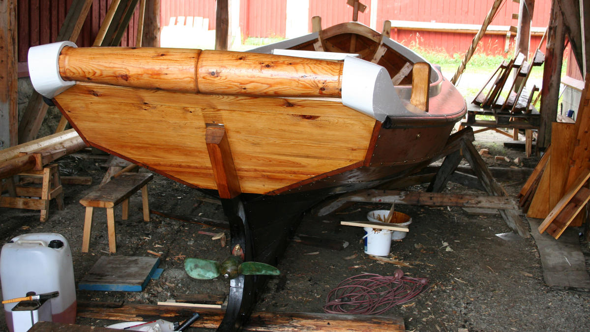 Joostgavvelen klar til sjøsetting. (Foto/Photo)
