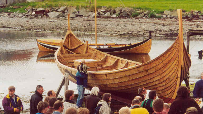 """The viking sip """"Visund""""."""