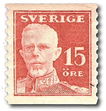 Gustaf V - en face