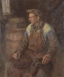 Stätte-Ivar [Oljemålning]