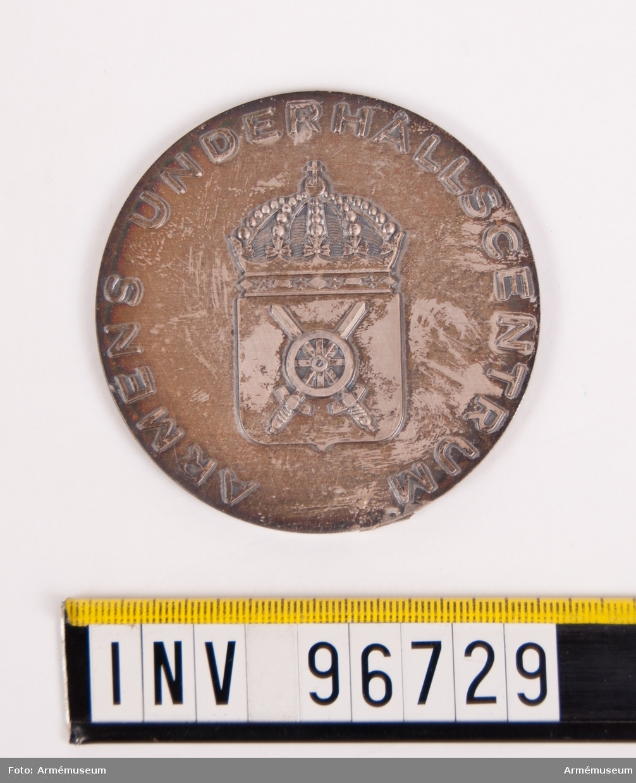 Medalj i silver för Arméns underhållscentrum.