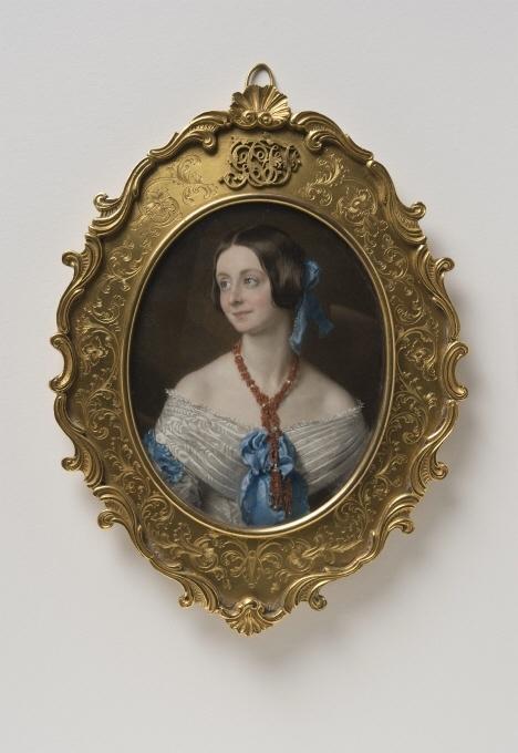 Porträtt av en dam, kallad Mrs Ackland