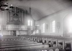 Interiör av Misterhults kyrka.