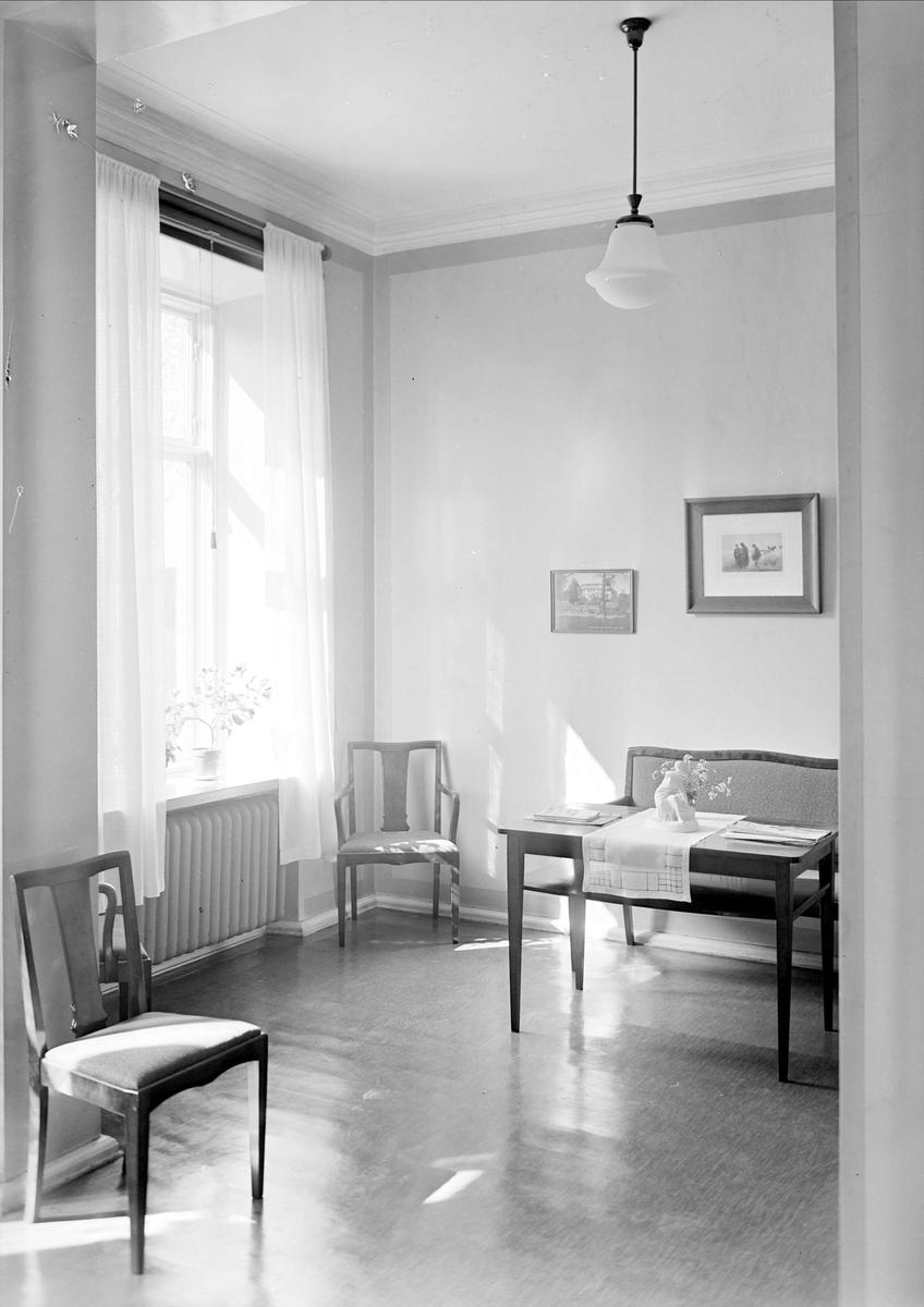 Interiör, Samariterhemmet, Uppsala 1943