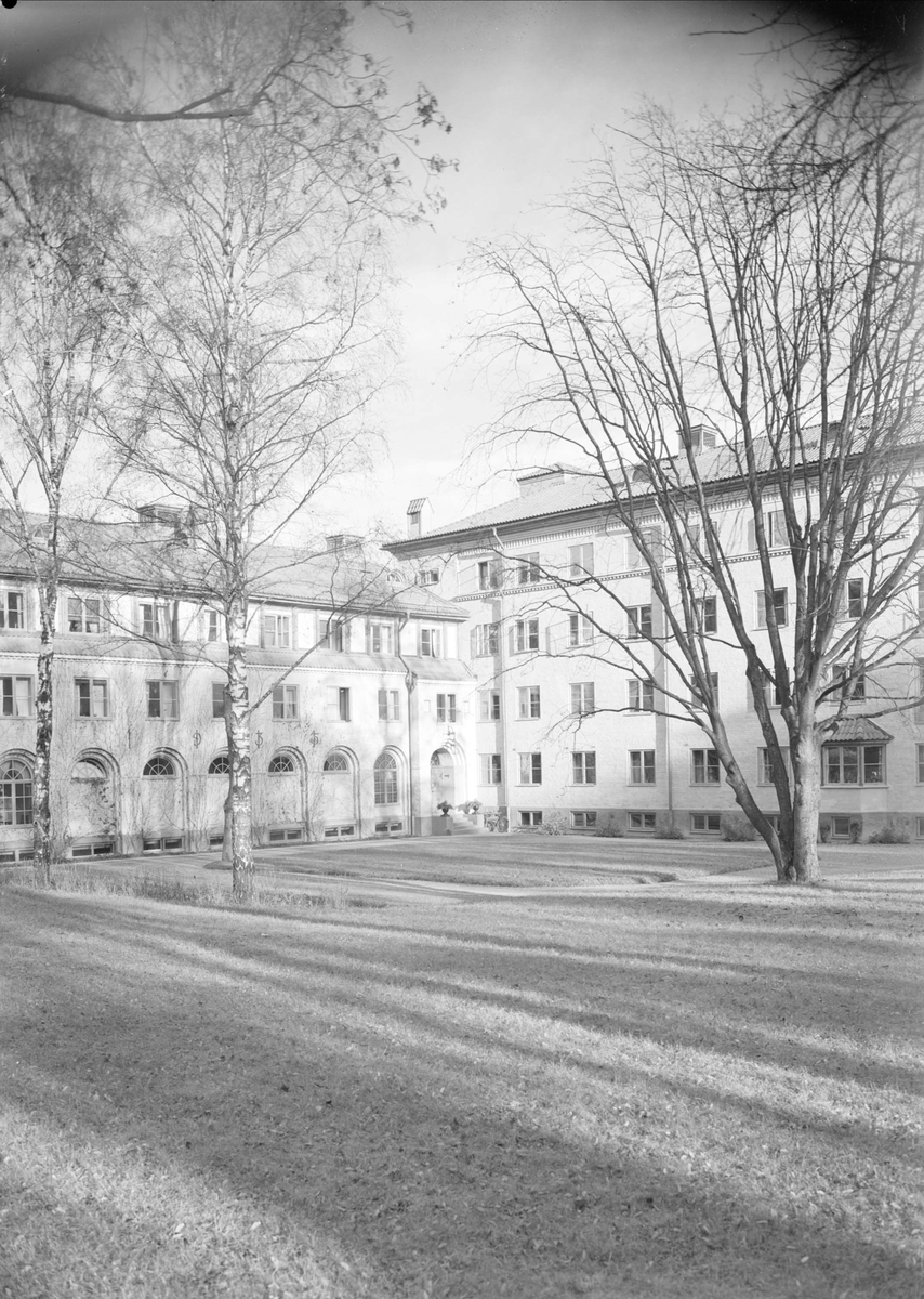 Samariterhemmet, kvarteret Högne, Kungsängen, Uppsala 1939