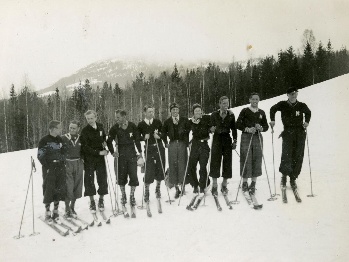 Kongsberg skiers in Jondalen