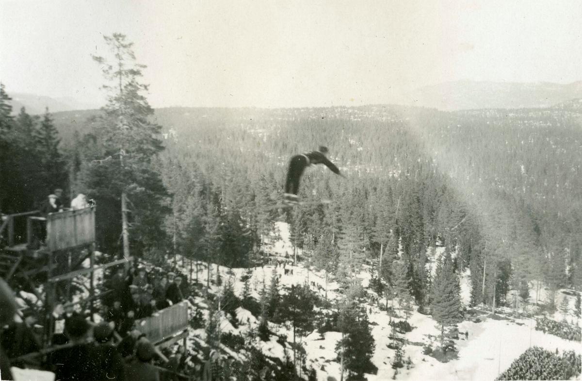 Ski jumping at Kongsberg
