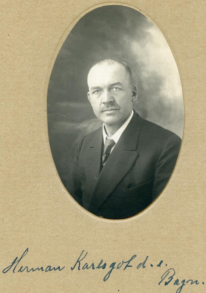 Portrett av Hermann Karlsgot d.e.
