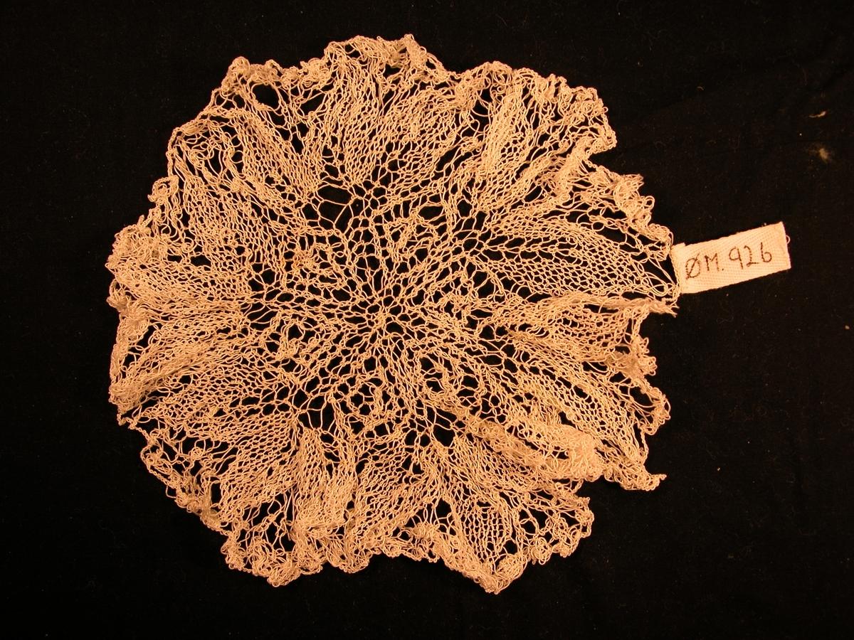 Rose med 6 blad i midten