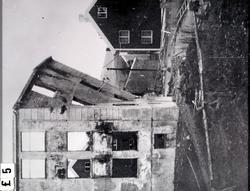 Clausens gate 17A på Kirkelandet i Kristiansund, her i ruine