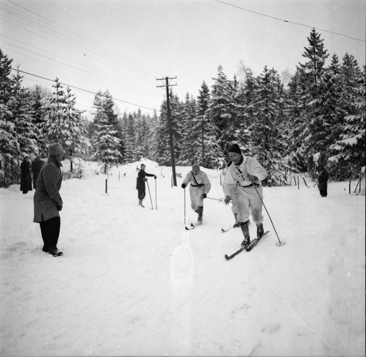 """Vardens arkiv. """"Politimesterskapet""""  10.02.1954"""