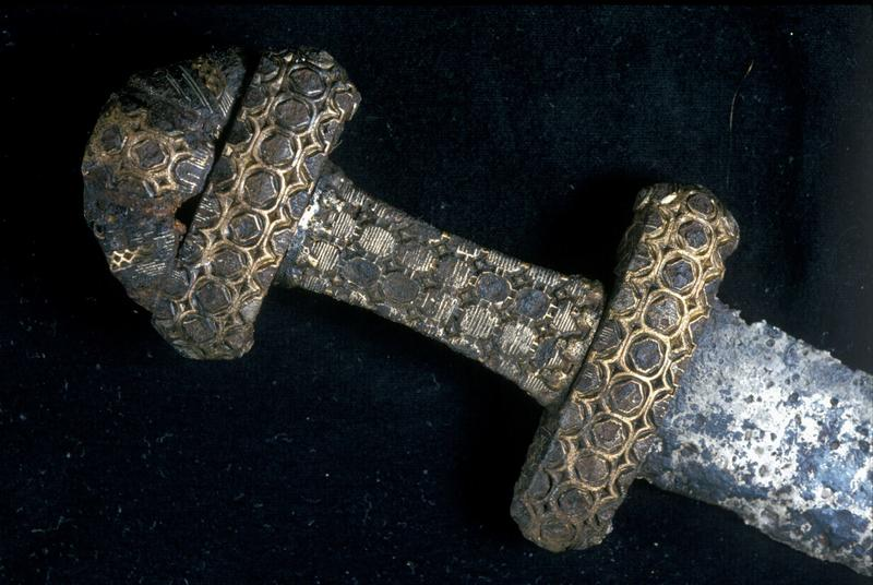 Detail of a hilt.