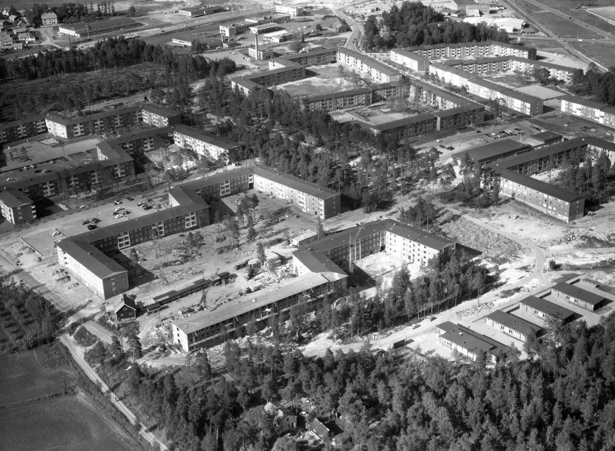 Vy över Gruvlyckan år 1965.