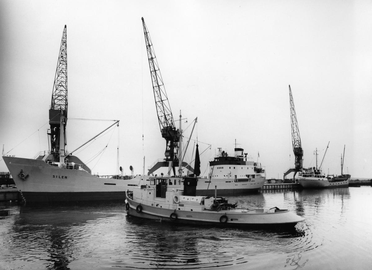 Karlstads Yttre hamn i början av 1960-talet.