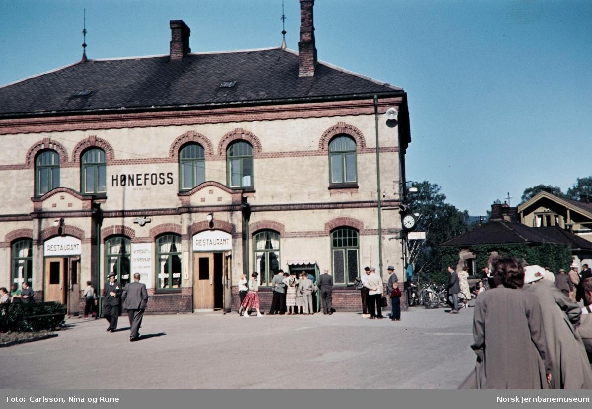 Hønefoss stasjon