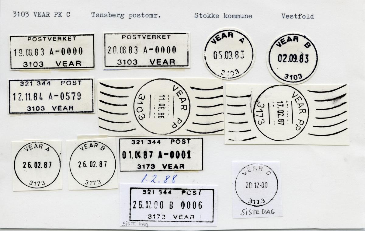 3103 Vear, Tønsberg, Stokke, Vestfold