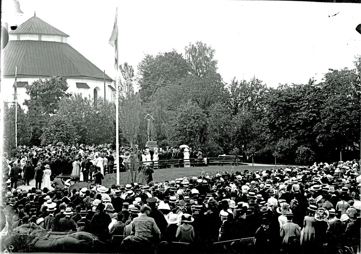 Invigning av Scheelestatyn,1912.