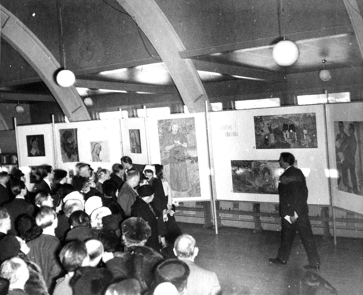 Konstutställning 1947