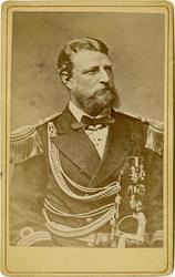 Porträtt av Adolf Arnold Louis Palander, kapten vid Flottan.