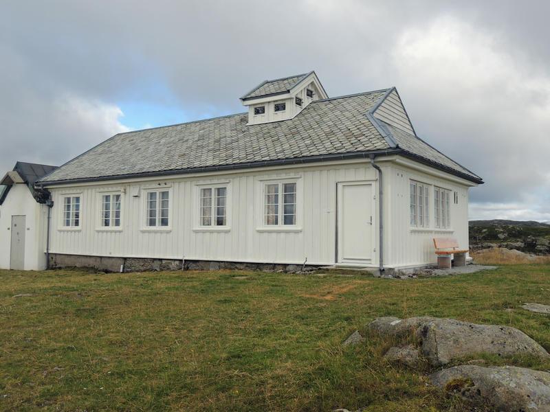 Radiostasjoner. Rundemanen etter restaurering eksteriør (Foto/Photo)