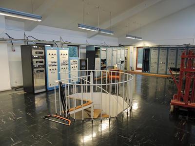 Radio- og kringkastingsstasjoner. Vigreskogen senderstasjon, Rogaland radio interiør 2