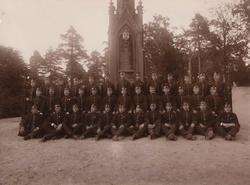 1ste Brigades Sergentklasse 1898.