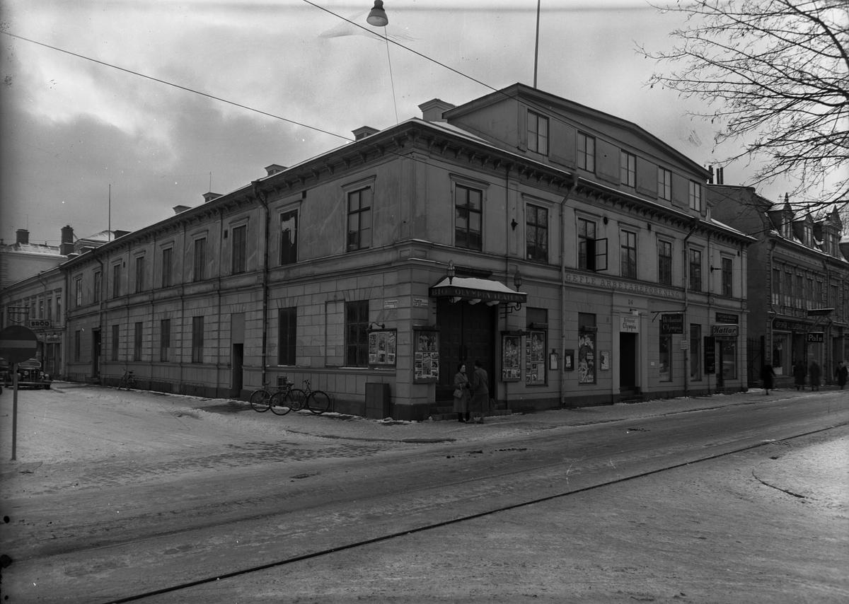 Hörnet av Nygatan och Norra Köpmangatan.