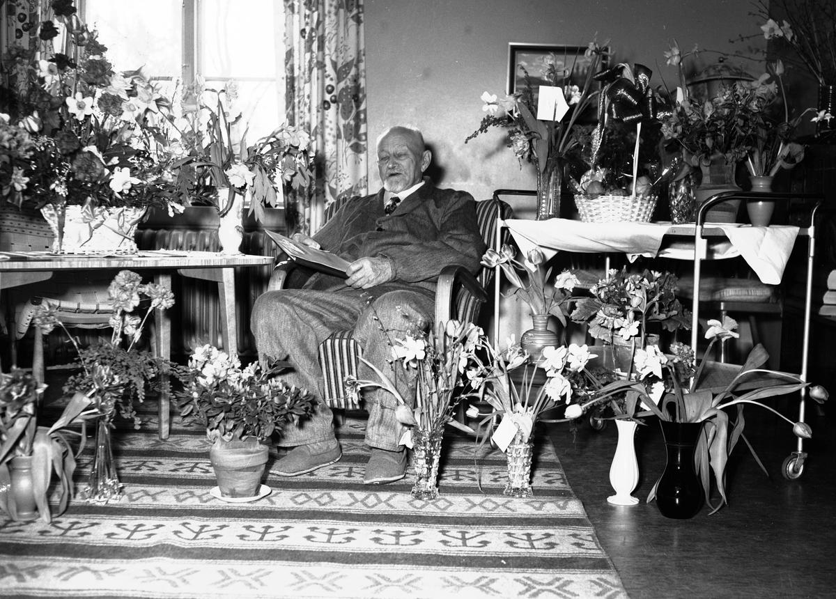 Kapten Zettergren, Socialvården. Den 8 april 1950