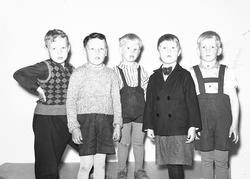 Rörbergs barnkoloni. Den 6 maj 1943. Reportage för Norrlands