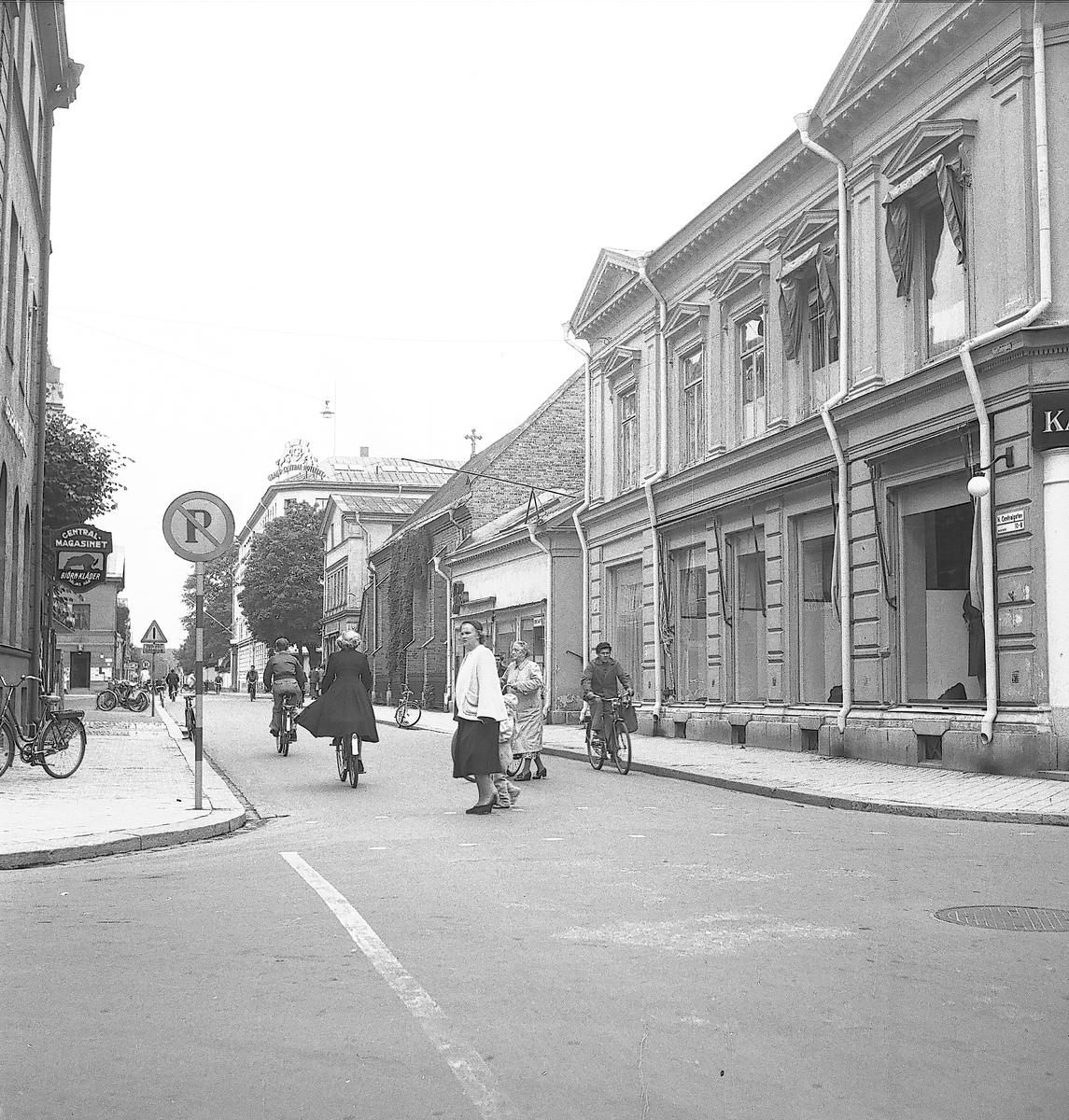 Drottninggatan och Norra Centralgatan